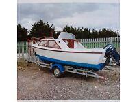Loftus cruiser 20 foot motor boat