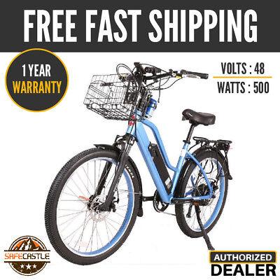 New 2019 X-Treme Catalina Beach Cruiser 48V 500W Electric Bike