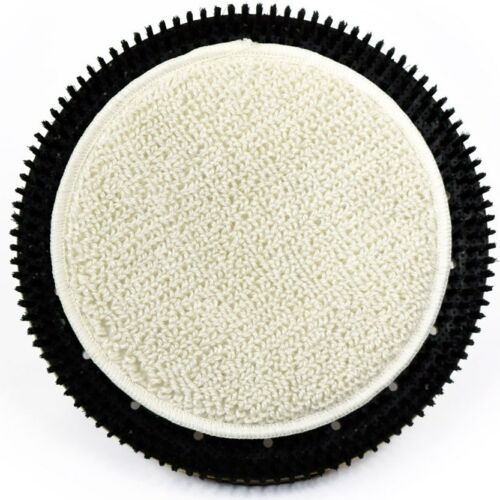 "CASE OF 6 -  CIRCLE SHAPED 16"" CARPET BONNETS (fits MALISH 19"" BONNET-LOK II)"