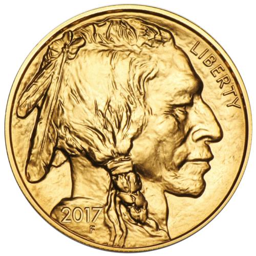 Купить 2017 $50 American Gold Buffalo 1 oz Brilliant Uncirculated