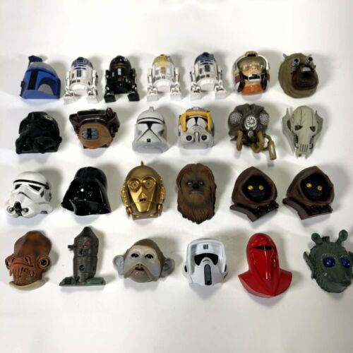 Star Wars Lucasfilm 2004-2010 Fridge Magnet R2D2 Stormtrooper Figure Lot of 25