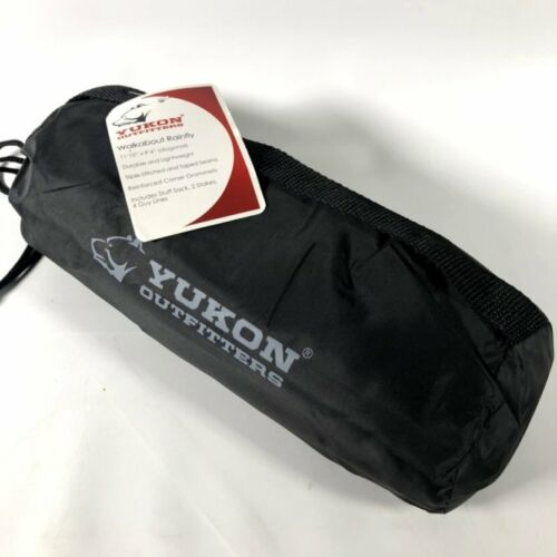 YUKON Outfitters Walkabout Rainfly Black 11