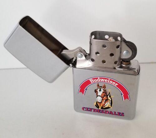 ZIPPO Budweiser Clydesdale 1994 Unfired Lighter