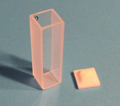Uv Quartz Spectrometer Cuvette 1cm Standard Clear New