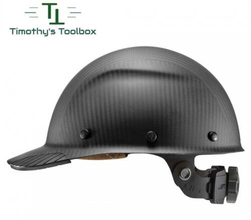 Lift Safety Dax Carbon Fiber Cap Hard Hat Matte Black