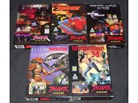 ATARI JAGUAR - I am looking for games, a console, and any accessories.