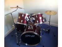 Drum Kit - Used Stagg 'Tim' 7 piece
