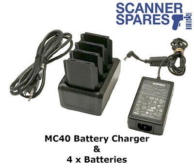 Motorola SACX000-4000C 4-Slot Batttery Charger for MC55//MC3000 Mobile Computers