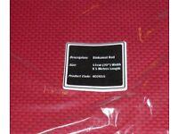 JOB LOT 50 METRES (10 X 5 METRES) RED CROSS STITCH FABRIC Binca 6 count BRAND NEW