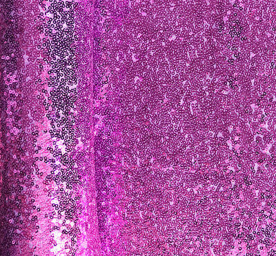 Lavender Sequin Fabric, Violet Full Sequins for Party Deco, Dress by the Yard