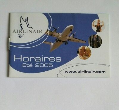 Airlinair Timetable 2005