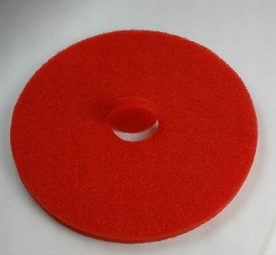 Buffer Floor Pads 17 Red Machine Buffing Floor Pads - Etc Of Henderson C1121