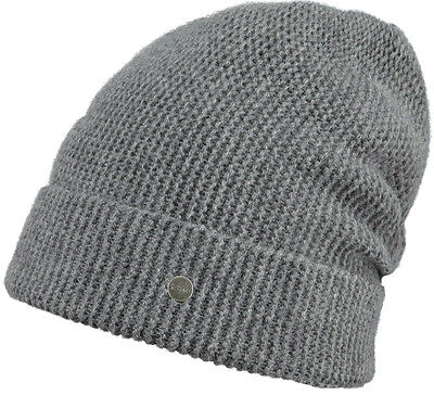 Barts Mütze JULIA Beanie dark heather Damenmütze Kaschmir Beanie Winter 19 NEU ()