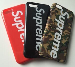 Supreme nyc bianco camouflage iphone 6 7 plus custodia for Case originali