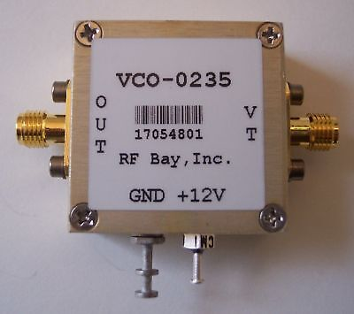 175-300mhz Voltage Controlled Oscillator Vco-0235 Sma