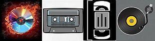 Vintage-Analog-Digital Media