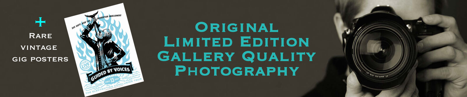 Segami Photography/RareGig Posters