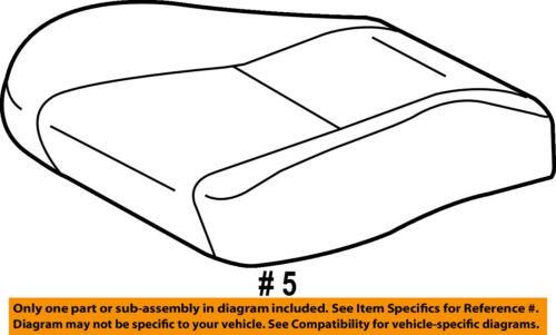 TOYOTA Genuine 71072-02670-J0 Seat Cushion Cover
