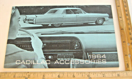 1964 CADILLAC ACCESSORIES BROCHURE