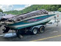 1996 Rinker Captiva Mercruiser I/O Trailer Sinking Spring, PA   No Fees/Reserve