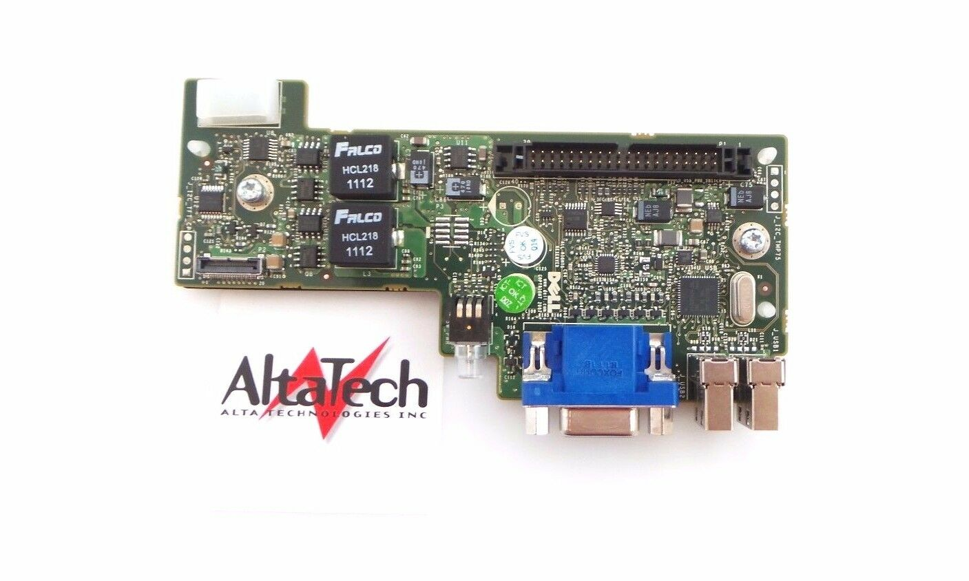 Dell XP520 PowerVault M1000E USB VGA Control Panel BoardFast Free Shipping