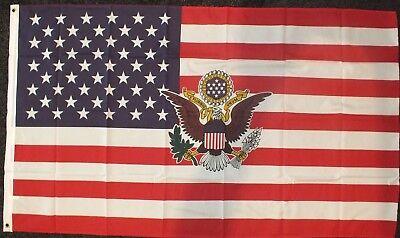 Stars & Stripes US President Flag 5x3 American History USA Donald Trump POTUS