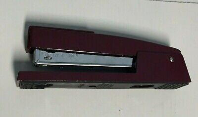 Swingline Red Stapler 747 Manual Office Space 747xx Rare Burgundy Matte Vintage