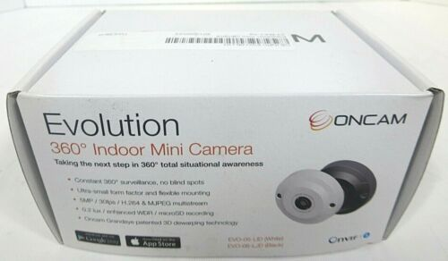 Oncam EVO-05-LJD (White) Evolution 360 Degree Indoor Mini Camera-Free Shipping