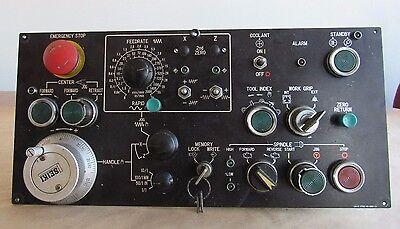 Hitachi Cnc Control Panel Operator Lx-2 1712-05-202-11 W Seiki Pulse Generator