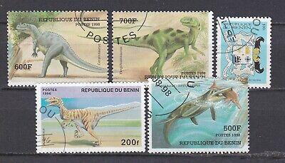 Benin -  lot de 5 timbres