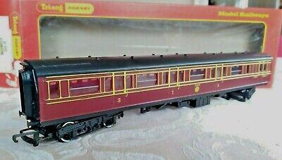 Hornby R 747, Composite Coach LMS #2640 Passenger Train Car, OO Gauge Mint w/Box