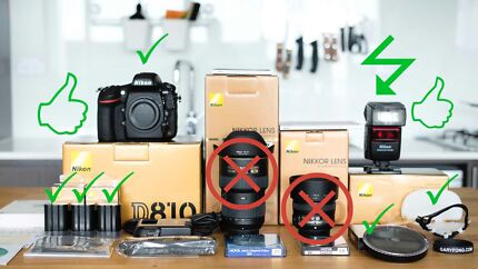 SALE -- NIKON D810, Speedlight, Filter & Accessories -- BUNDLE!