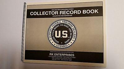 C&R FFL 03 Bound Book / C&R Bound Book / Curio and Relic Bound 300 GUN
