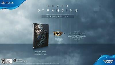 Death Stranding Especial Edición Libro [ sony PLAYSTATION 4 PS4 Digital Álbum...