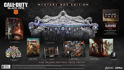 Call of Duty: Black Ops 4 Mystery Edition [Microsoft Xbox One FPS Zombies]