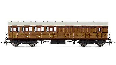 Hornby LNER Gresley Non-vestibuled Suburban 3rd Class Brake OO Coach R4518B