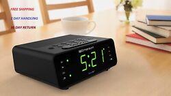New Bedroom SmartSet Alarm Clock Radio with AM/FM Radio Timer Display
