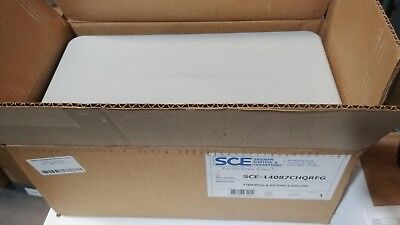 New Sce-14087chqrfg Saginaw Fiberglass Electrical Box Enclosure