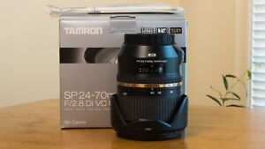 Tamron SP 24-70  for Canon Full Frame Lens F/2.8 Di VC USD