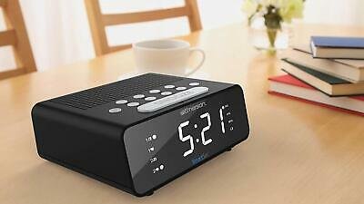 Emerson SmartSet Alarm Clock Radio with AM/FM Radio, Dimmer