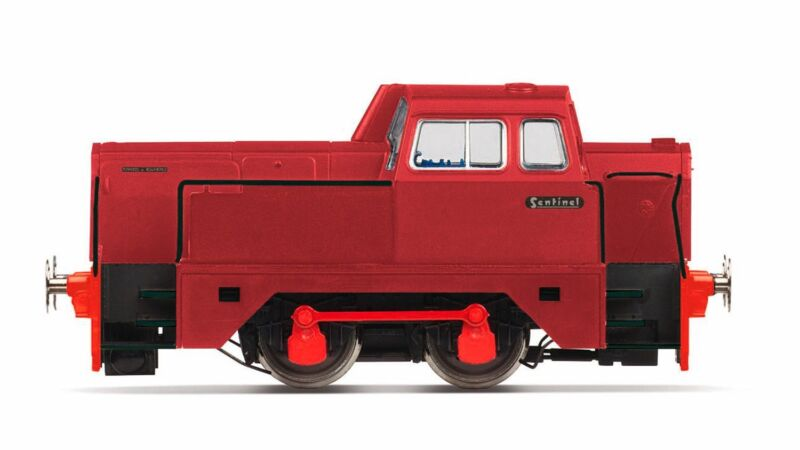 Hornby R3577, Oxfordshire Ironstone Company, Sentinel 0-4-0,