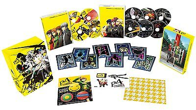 Persona 4  The Animation   Collectors Edition  Blu Ray   Dvd  Anime  Region A