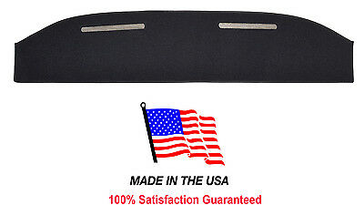 1973-1979 Ford F-250 Black Carpet Dash Cover Mat Pad FO3-5 Made in USA