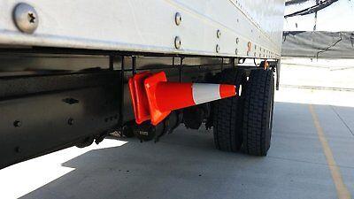 Street Facing Safety Cone Holder for Big Rigs, Semi Trucks & Straight Trucks  (Street Cones)