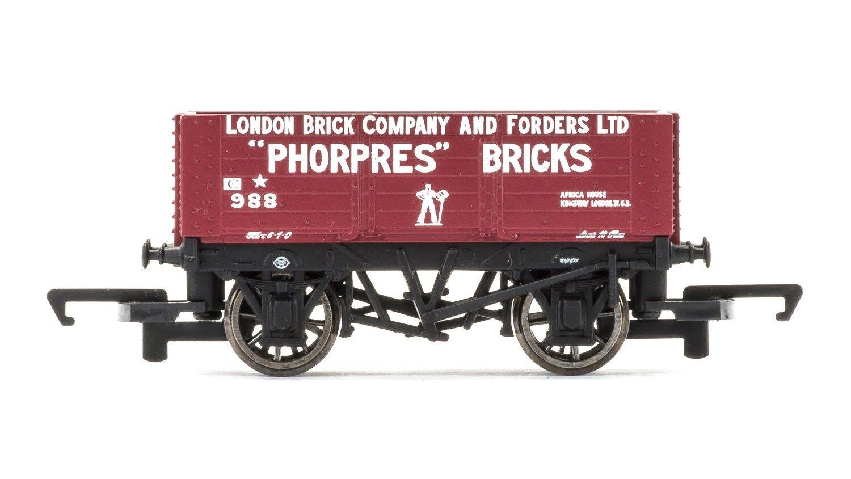 Hornby R6754 London Brick Company 'Phorpres' 6 Plank SWB Fre