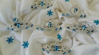 Frozen Party Favors, Elsa Crown Goodie Bag, Party Supplies SET OF 8 - Frozen Goodie Bags