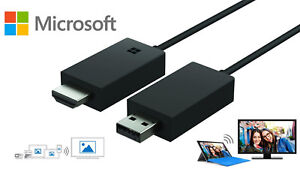 Microsoft Wireless Display Adapter V2 with Miracast Technology Genuine UK  N/O