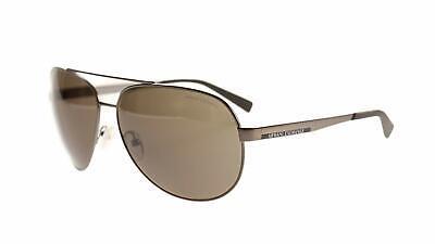 Armani Exchange AX2017S Sunglasses 608673-64 - Matte Gunmetal Frame, Brown