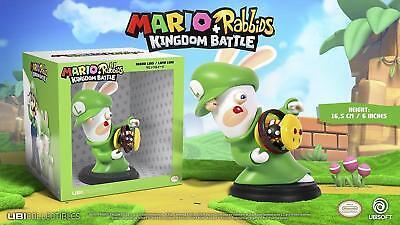 New Mario Rabbids Kingdom Battle Ubisoft Rabbid Luigi 6  Figure Ubc50rkb05100 Ff