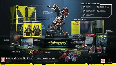 Cyberpunk 2077 edicion coleccionista PC reserva preorder collector edition